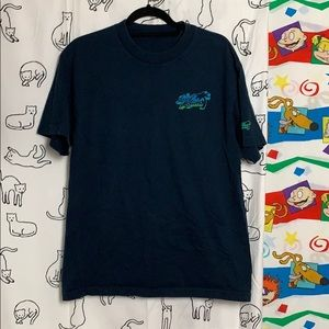 Vintage Shirts - Local Motion Navy Tee